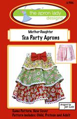 Mãe-filha Tea Party
